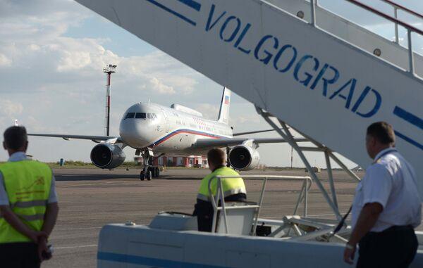 Рабочая поездка президента РФ В. Путина в Волгоград