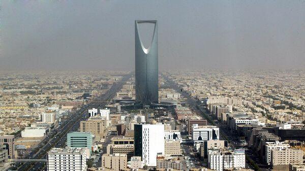 Небоскреб Бурдж Аль-Мамляка в Эр-Рияде