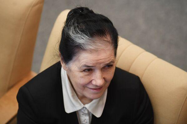 Председатель комитета Государственной Думы РФ по жилищной политике и жилищно-коммунальному хозяйству Галина Хованская