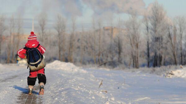 Холодные дни в Великом Новгороде