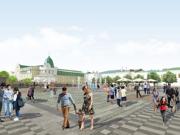 Проект реконструкции общественных пространств в Омске