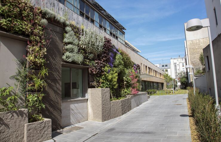 Начальная школа Оливье де Серра в Париже, Франция
