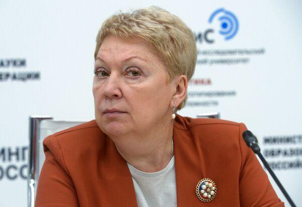 Министр образования и науки Российской Федерации Ольга Васильева