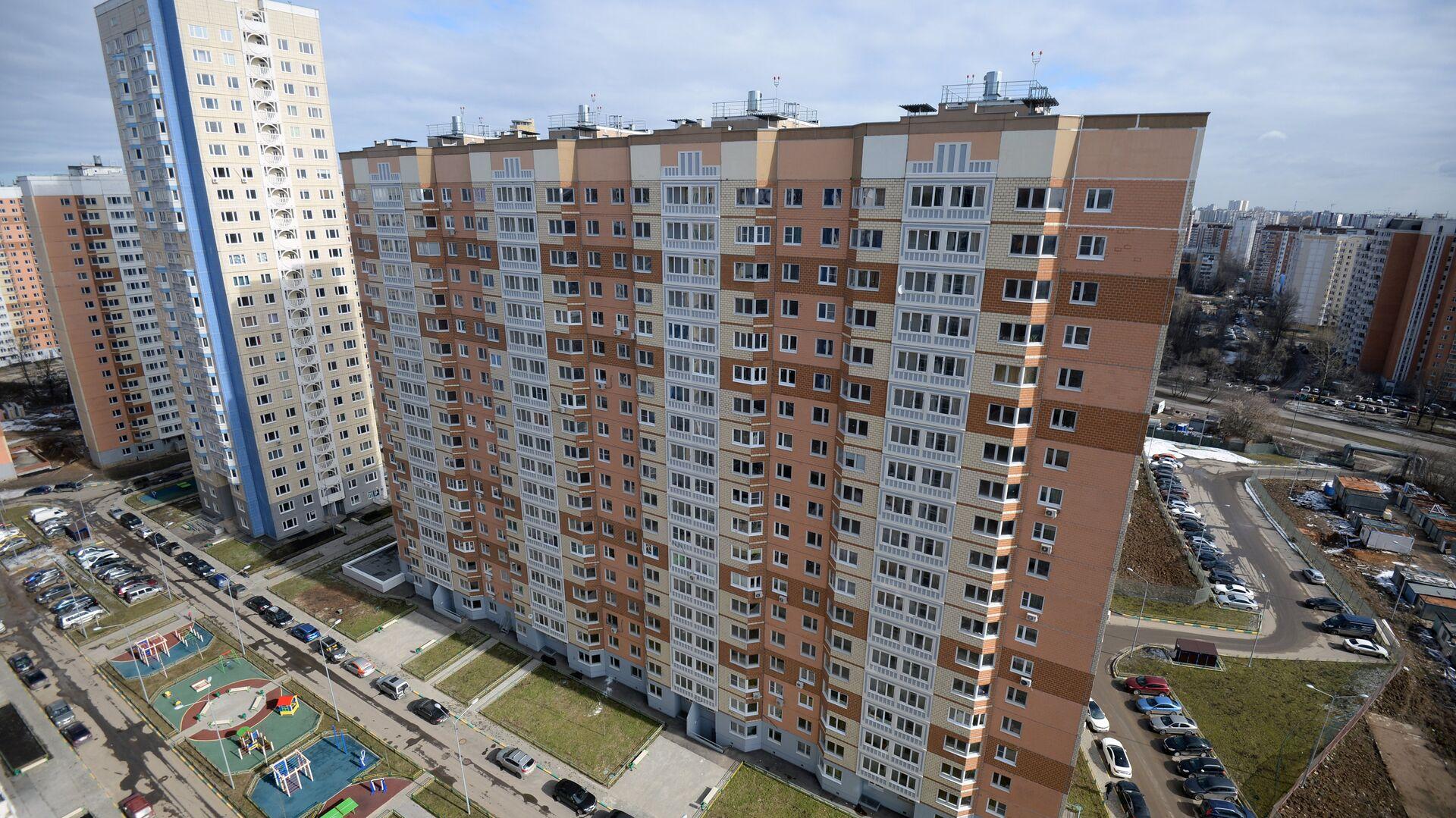 Строительство жилья - РИА Новости, 1920, 17.09.2020