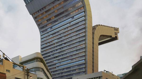 Шалом 1 и 2, Тель-Авив. Этот небоскреб – символ Израиля. Глядя на его форму, мне всегда хотелось расстегнуть и застегнуть его, как молнию, и посмотреть, что внутри.
