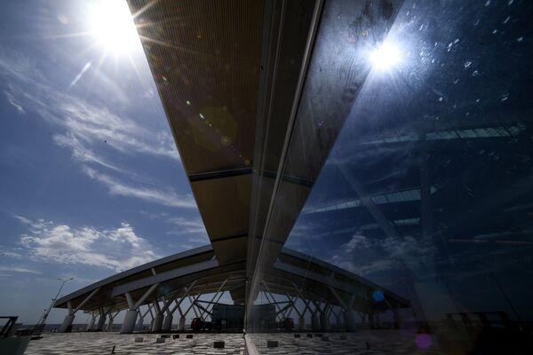 Строительство международного аэропорта Платов в Ростовской области