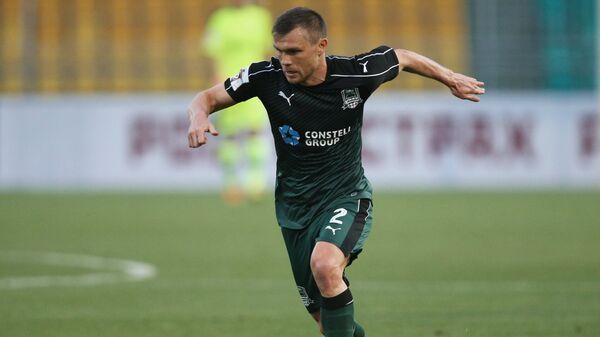 Полузащитник Краснодара Марат Измайлов