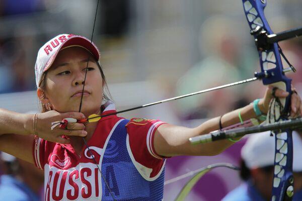 Российская лучница Инна Степанова