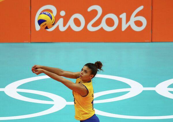 Игрок женской сборной Бразилии по волейболу