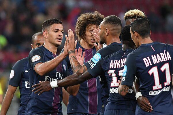 Футболисты Пари Сен-Жермен