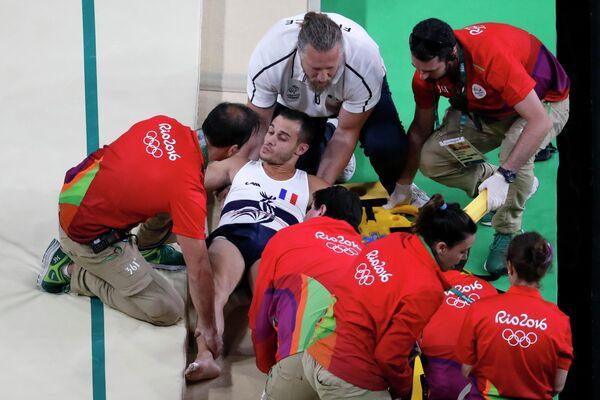 Французский гимнаст Самир Айт Саид