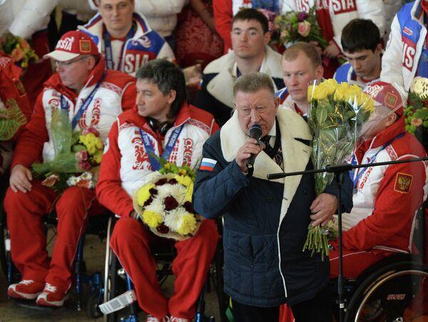 Вице-президент Паралимпийского комитета России Лев Селезнев