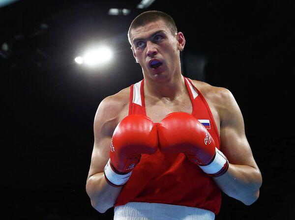 Российский боксер Евгений Тищенко