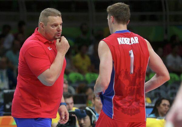 Владимир Алекно и Игорь Кобзарь (слева направо)