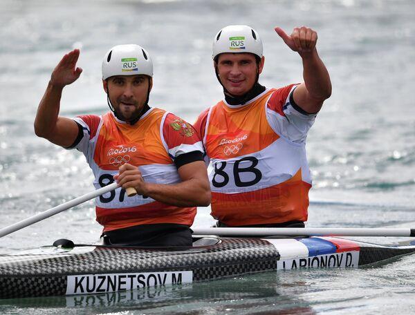 Михаил Кузнецов и Дмитрий Ларионов (Россия)