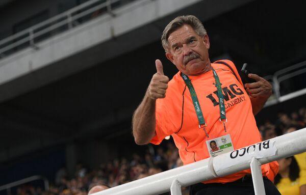 Тренер российской спортсменки Дарьи Клишиной Лорен Сигрейв