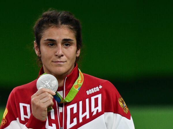 Серебряный призер ОИ-2016 по борьбе Наталья Воробьева