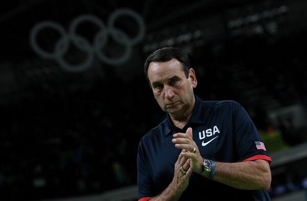 Главный тренер мужской сборной США по баскетболу Майк Кржижевски