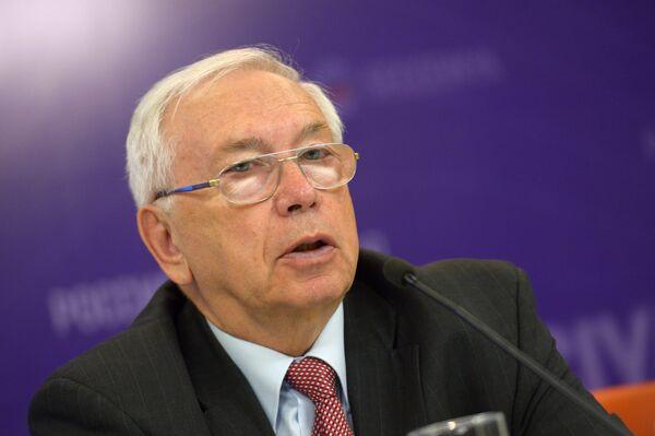 Президент Паралимпийского комитета России Владимир Лукин
