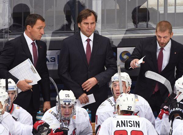 Сергей Бердников, Валерий Зелепукин и Андрей Евстафьев (слева направо)