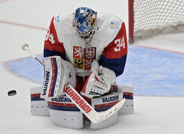 Вратарь сборной Чехии Петр Мразек