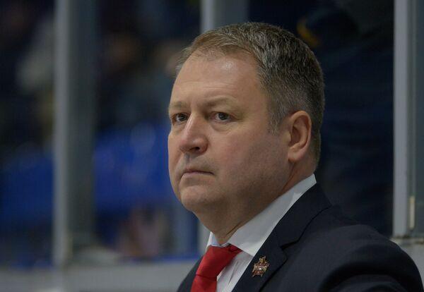 Главный тренер Куньлуня Владимир Юрзинов-младший