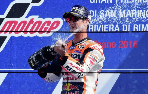Испанец Дани Педроса из команды Repsol Honda
