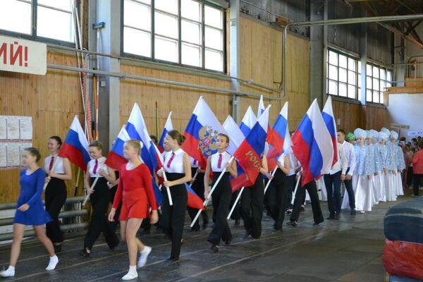 тестирование ГТО в рамках масштабной ежегодной акции Волна здоровья в Костромской области.