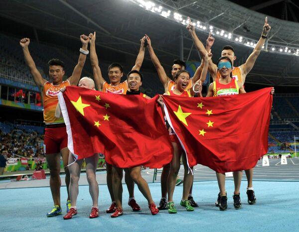 Паралимпийцы сборной Китая