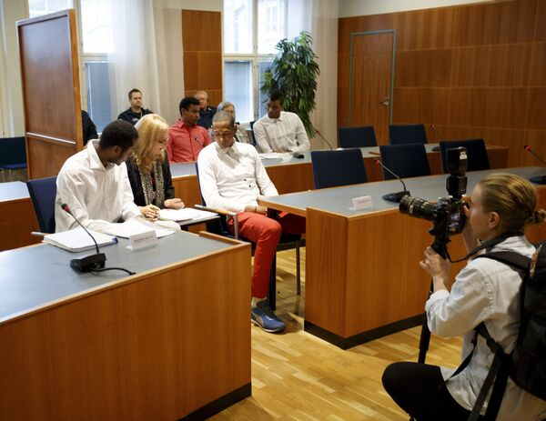 Судебное заседание в Финляндии по делу пятерых волейболистов сборной Кубы