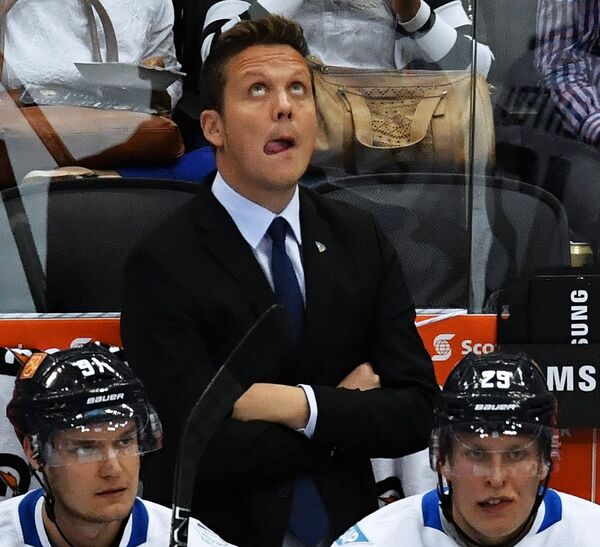 Главный тренер сборной Финляндии Лаури Марьямяки