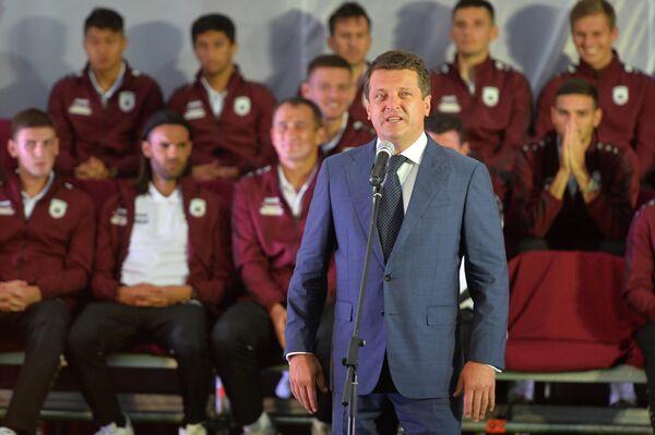 Президент футбольного клуба Рубин Ильсур Метшин