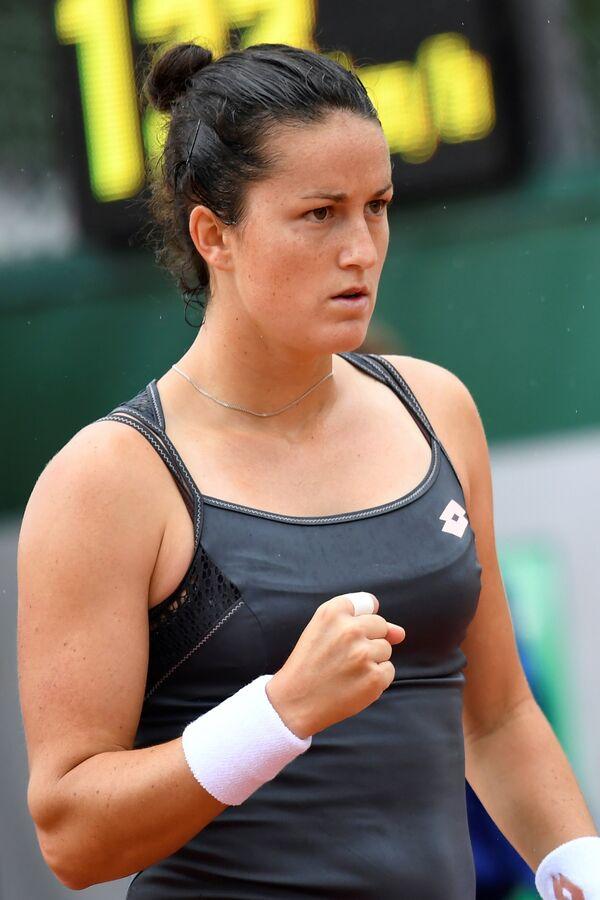 Испанская теннисистка Лара Арруабаррена-Весино