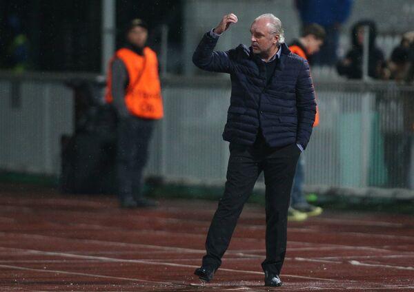 Исполняющий обязанности главного тренира ФК Краснодар Игорь Шалимов