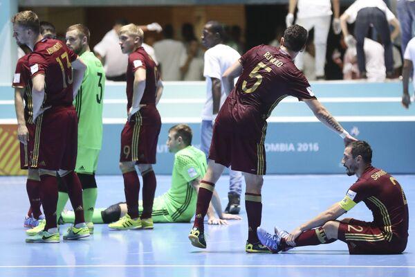 Игроки сборной России по мини-футболу