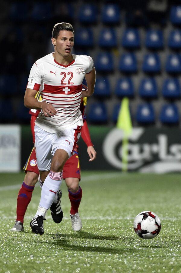 Защитник сборной Швейцарии Фабиан Шер