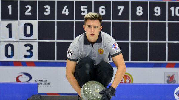 Игрок сборной России Даниил Горячев
