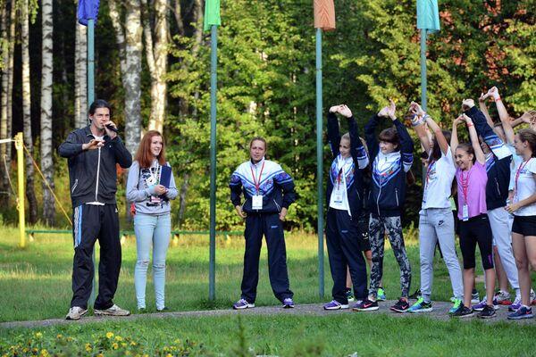 Богдан на Всероссийском фестивале ГТО среди школьников во Владимирской области