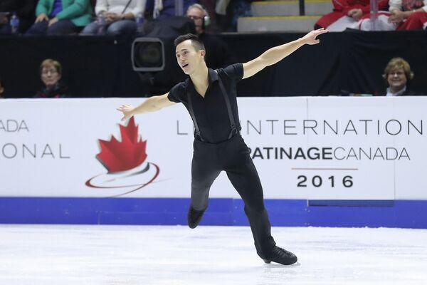 Канадский фигурист Патрик Чан