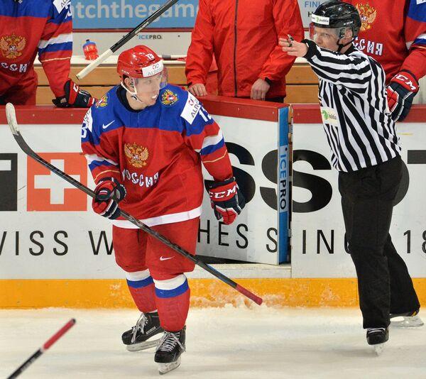Александр Полунин (слева)