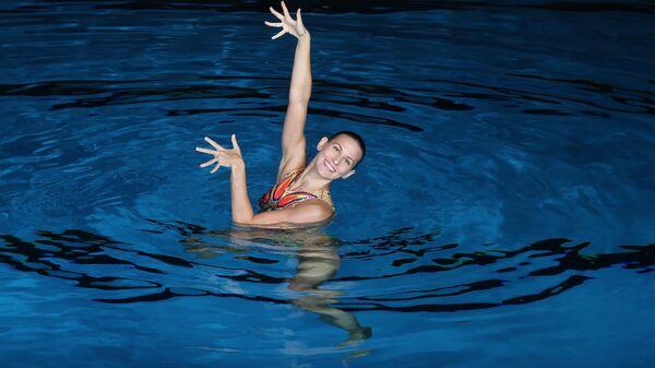 Двукратная чемпионка Олимпийских игр в синхронном плавании Алла Шишкина