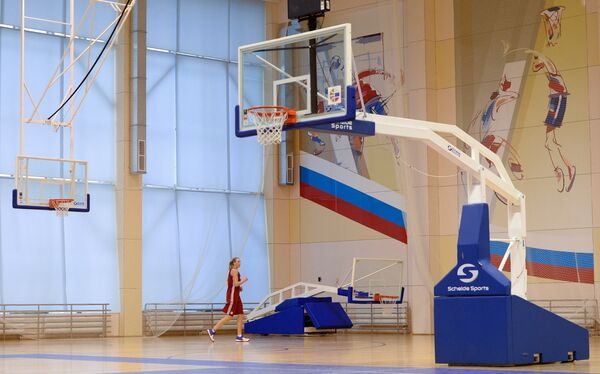 Центровая женской сборной России по баскетболу Татьяна Видмер