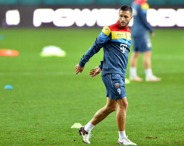 Форвард сборной Румынии Флорин Андоне