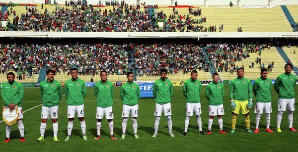 Футболисты сборной Боливии