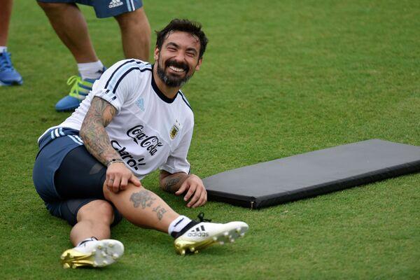 Нападающий сборной Аргентины Эсекьель Лавесси