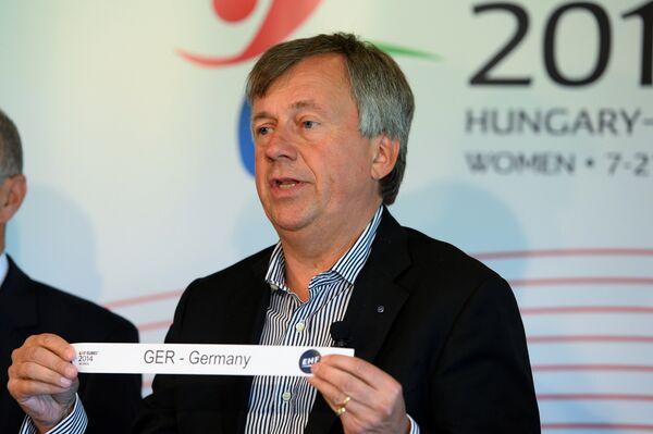 Президент Европейской федерации гандбола (EHF) Михаэль Видерер