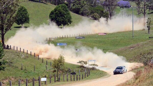 Участник этапа WRC