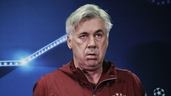 Главный тренер ФК Бавария Карло Анчелотти