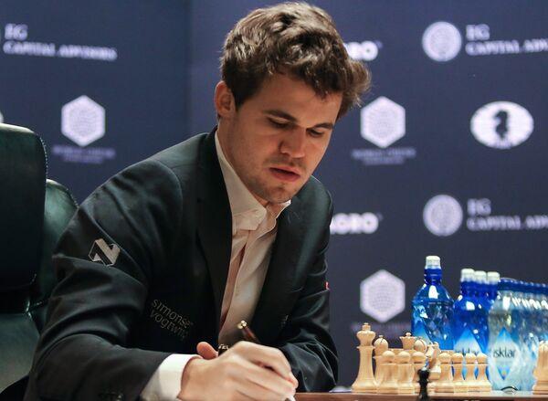 Гроссмейстер Магнус Карлсен