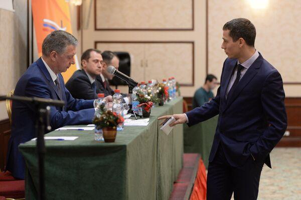 Дмитрий Шляхтин (слева) и Юрий Борзаковский